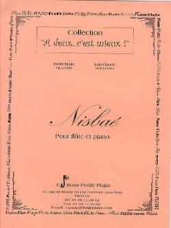Nisbaé - Flûte et Piano - Soldano Villard Partition laflutedepan