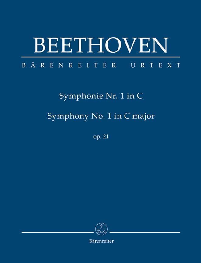 Symphonie Nr. 1 en Do Majeur Op. 21 - Conducteur - laflutedepan.com