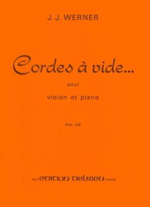 Cordes à vide - Jean-Jacques Werner - Partition - laflutedepan.com