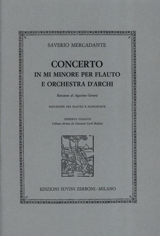 Concerto in mi minore -flauto piano - laflutedepan.com