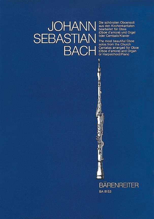 Les plus beaux solos de hautbois des cantates d' Eglise. - laflutedepan.com