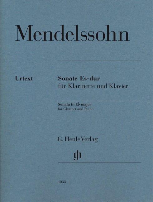 Sonate pour clarinette en Mi bémol majeur - laflutedepan.com