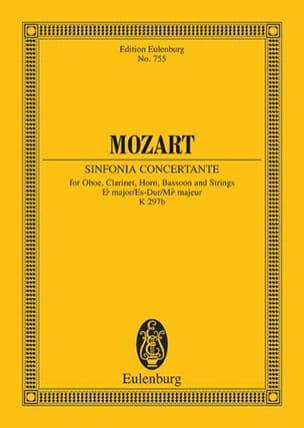 Sinfonia Concertante Es-Dur Kv 297b - Partitur MOZART laflutedepan