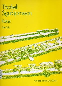 Kalais - Flute solo - Thorkell Sigurbjornsson - laflutedepan.com