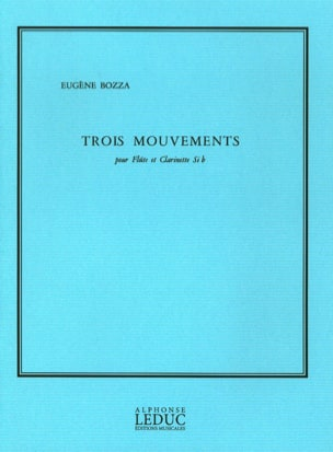 3 Mouvements Eugène Bozza Partition Duos - laflutedepan