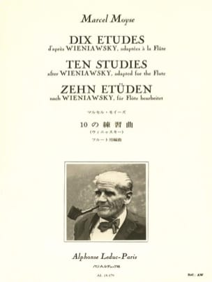 10 Etudes d'après Wieniawsky - Flûte Marcel Moyse laflutedepan