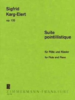 Suite Pointillistique Op. 135 Sigfrid Karg-Elert laflutedepan