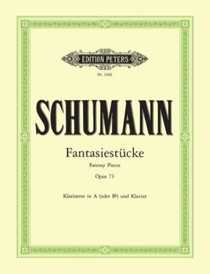 Fantasiestücke op. 73 SCHUMANN Partition Clarinette - laflutedepan