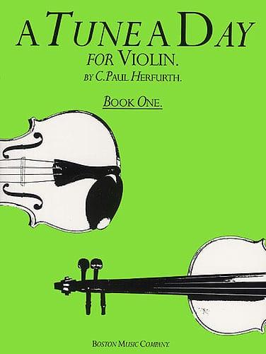 A Tune A Day Volume 1 - Violin - Paul C. Herfurth - laflutedepan.com