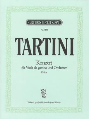 Concerto en Ré Pour Viole de Gambe TARTINI Partition laflutedepan
