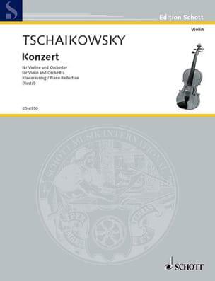 Concerto Violon ré majeur op. 35 TCHAIKOVSKY Partition laflutedepan