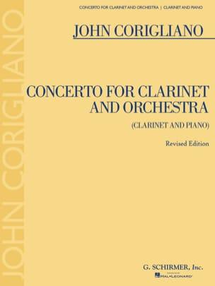 Concerto Pour Clarinette et Orchestre John Corigliano laflutedepan