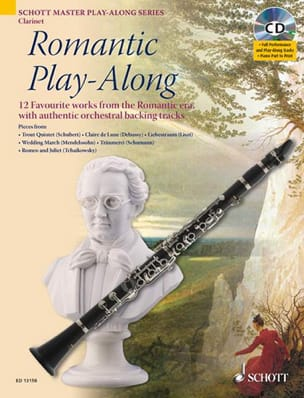 Romantic Play-Along For Clarinet Partition laflutedepan