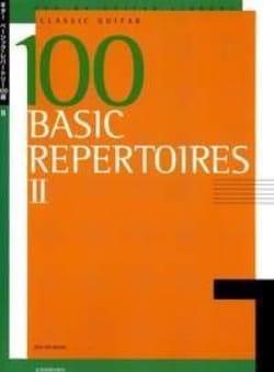 100 Basic Repertoires Volume 2 Partition Guitare - laflutedepan