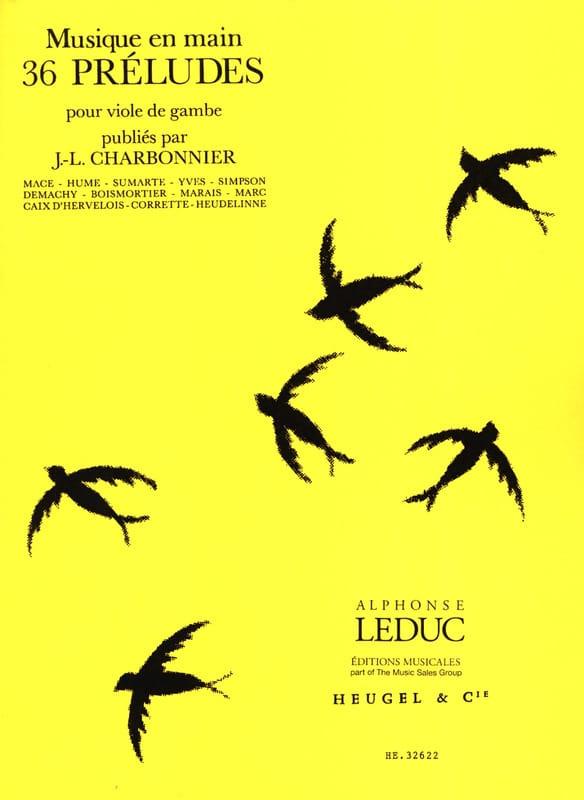 36 Préludes - Jean-Louis Charbonnier - Partition - laflutedepan.com