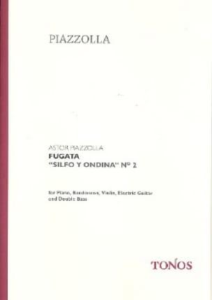Fugata - Score + Parts - Astor Piazzolla - laflutedepan.com