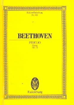 Fidelio Opus 72 BEETHOVEN Partition Petit format - laflutedepan