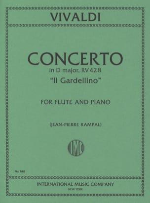 Concerto en Ré Maj. - F. 6 n° 14 - Il Gardellino - Flute/Piano laflutedepan