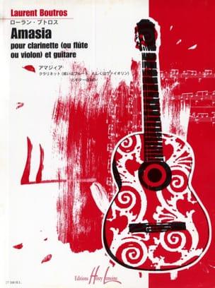 Amasia Laurent Boutros Partition Quatuors - laflutedepan