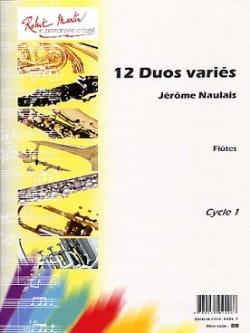 12 Duos Variés Jérôme Naulais Partition laflutedepan