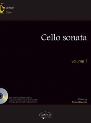 Cello Sonatas Volume 1 / Urtext Inclus - laflutedepan.com