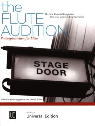 The Flute Audition - Flûte Partition Flûte traversière - laflutedepan