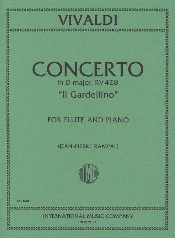Concerto en Ré Maj. - F. 6 n° 14 - Il Gardellino - Flute/Piano - laflutedepan.com