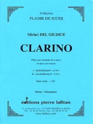 Clarino - Michel Delgiudice - Partition - laflutedepan.com