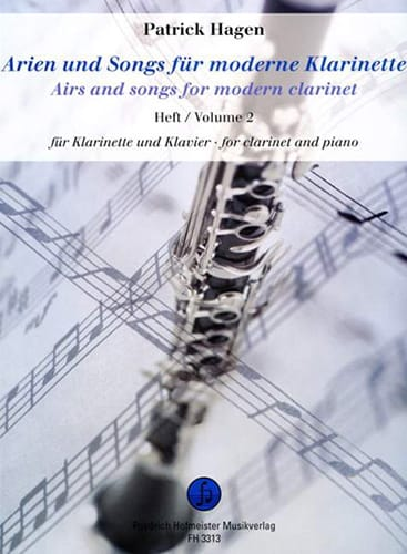Airs And Songs For Modern Clarinet Vol.2 - laflutedepan.com
