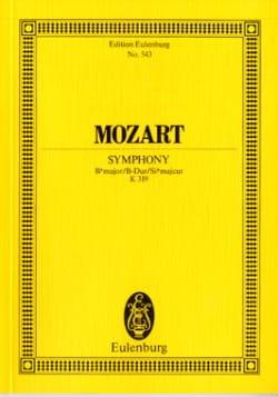 Symphonie B-Dur Kv 319 - Partitur MOZART Partition laflutedepan
