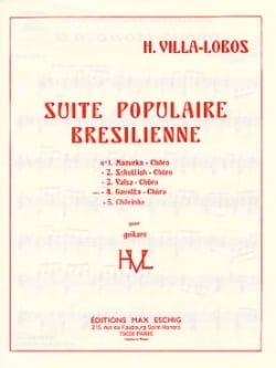 Heitor Villa-Lobos - Gavotta-Choro: No. 4 of the Brazilian Popular Suite - Partition - di-arezzo.co.uk