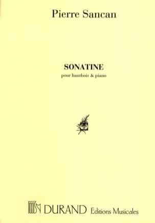 Sonatine pour hautbois et piano Pierre Sancan Partition laflutedepan