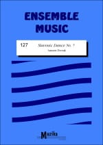 Slavonic dance n° 7 -Ensemble DVORAK Partition laflutedepan