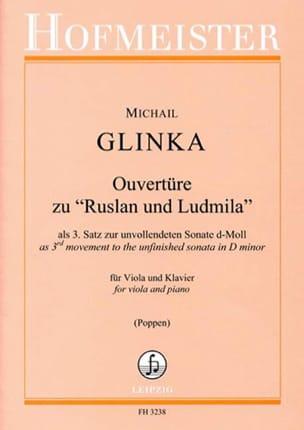 ouverture de Rousslan et Ludmilla GLINKA Partition Alto - laflutedepan