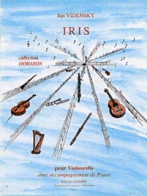 Iris - Jan Vidensky - Partition - Violoncelle - laflutedepan.com