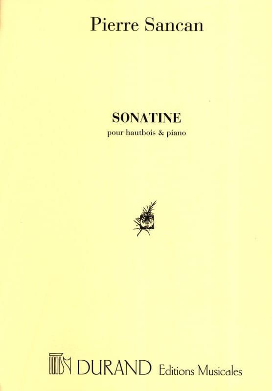 Sonatine pour hautbois et piano - Pierre Sancan - laflutedepan.com