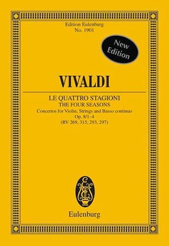Les Quatres Saisons - VIVALDI - Partition - laflutedepan.com