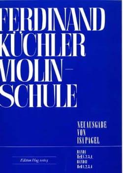 Violinschule - Band 1, Heft 4 Ferdinand Kuchler Partition laflutedepan
