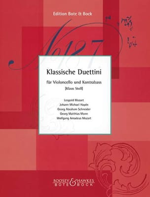 Klassische Duettini - Cello Kontrebass Klaus Stoll laflutedepan