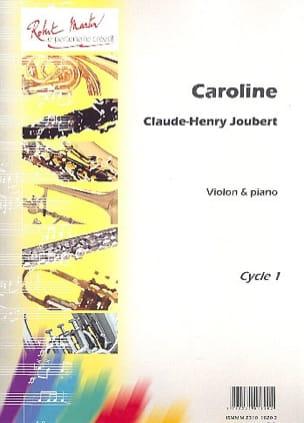 Caroline - Claude-Henry Joubert - Partition - laflutedepan.com