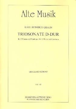 Triosonate D-Dur -2 Flöten und Continuo laflutedepan