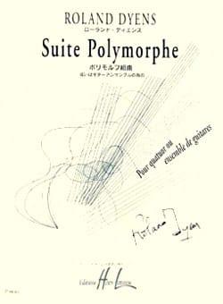 Suite polymorphe - Roland Dyens - Partition - laflutedepan.com