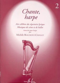 Chante, Harpe - Volume 2 Michèle Beaumont-Chollet laflutedepan