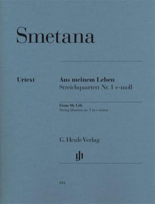 Quatuor à cordes n° 1 mi mineur « De ma vie » SMETANA laflutedepan