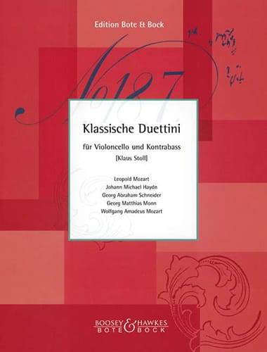 Klassische Duettini - Cello Kontrebass - laflutedepan.com