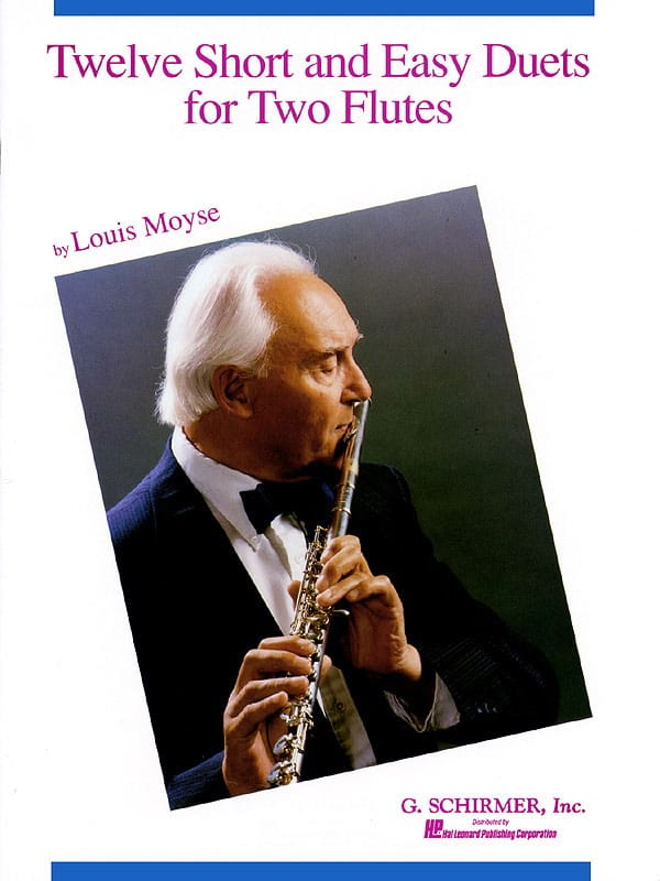 12 Short and easy duets - 2 Flûtes - Louis Moyse - laflutedepan.com