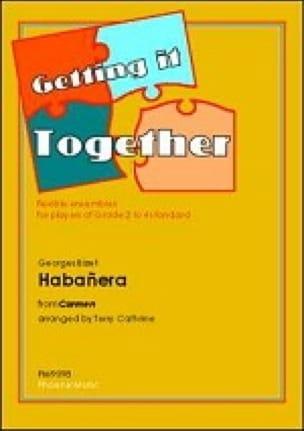 Habanera Carmen -Ensemble - BIZET - Partition - laflutedepan.com