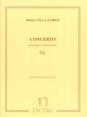 Concerto pour guitare et petit orch. -guitare piano laflutedepan