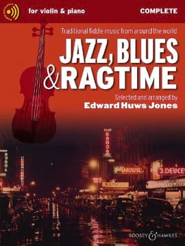 Jazz Blues and Ragtime - Complete + CD Jones Edward Huws laflutedepan