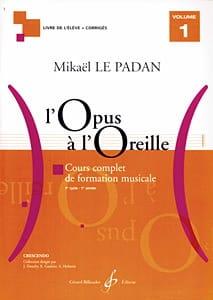 L'Opus à l'Oreille - Volume 1 Mikaël LE PADAN Partition laflutedepan